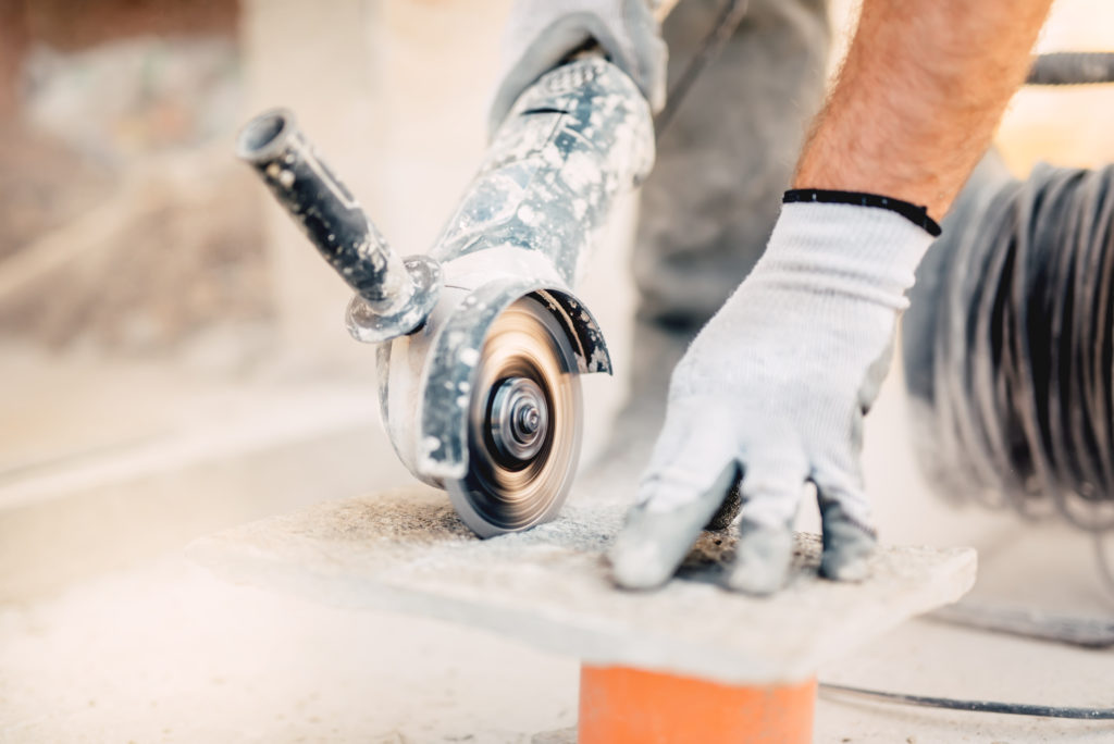 limestone tile installation pro or diy