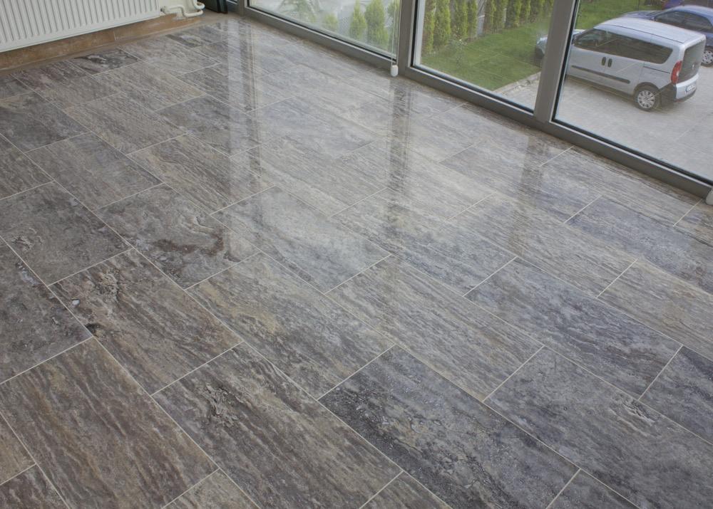 how to polish your travertine floor