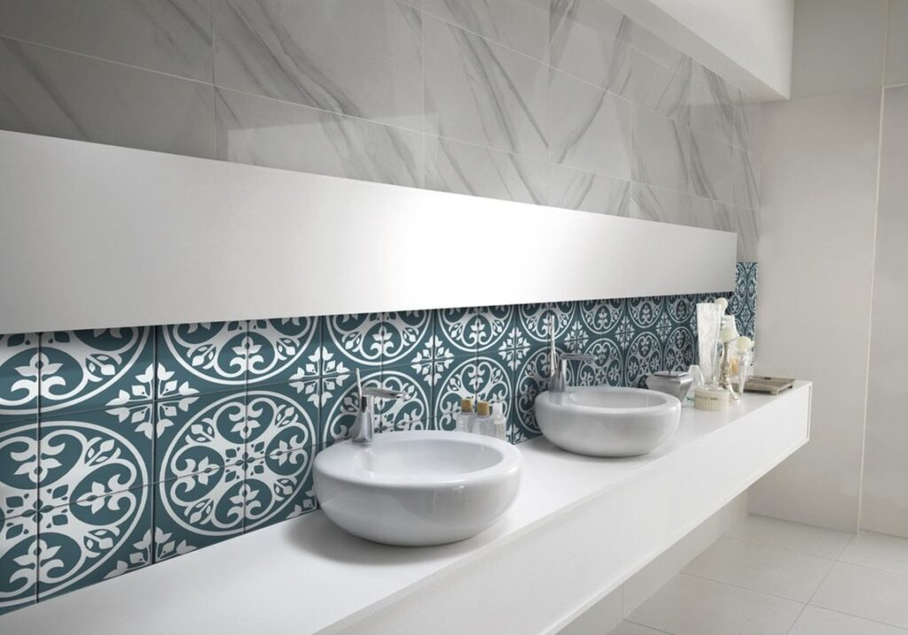 how to clean tile shower surrounds