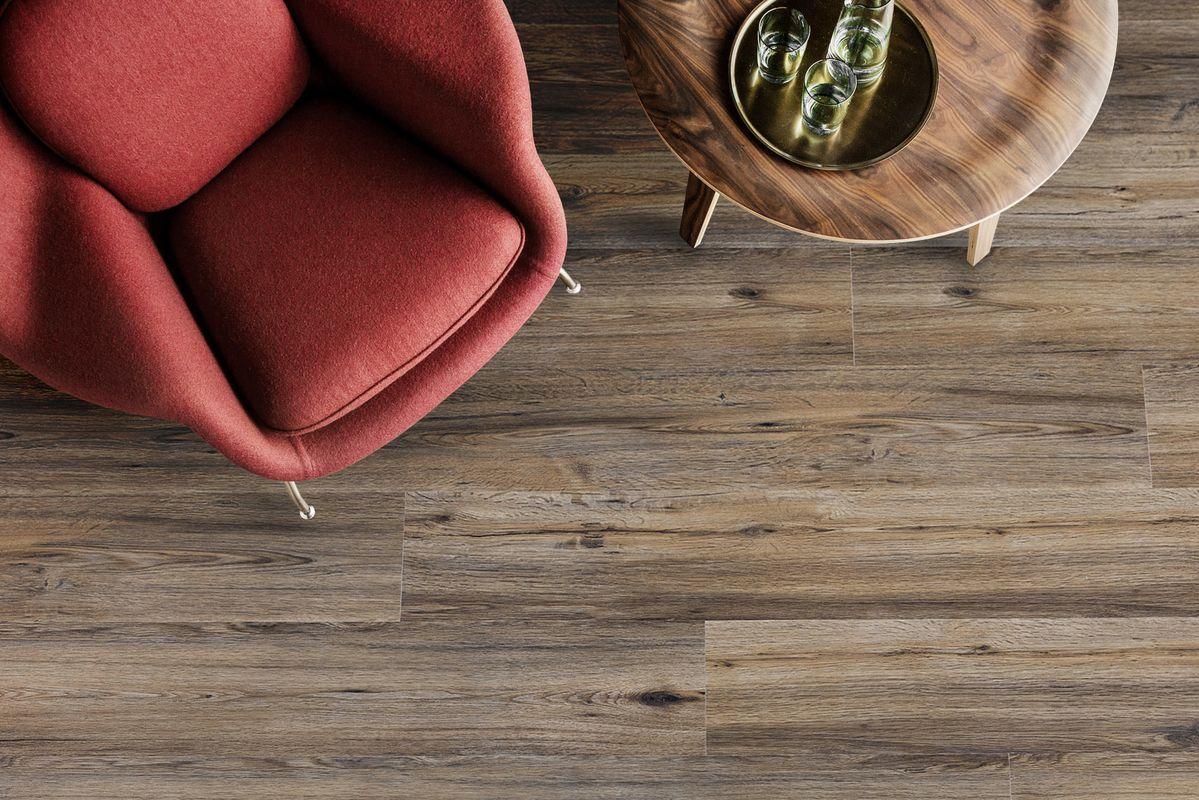 glue down vinyl flooring planks vs