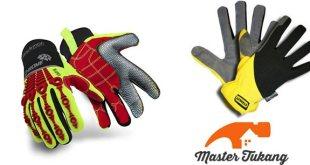 jenis sarung tangan keamanan safety