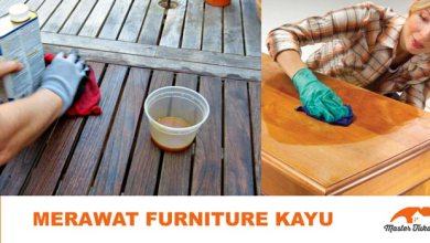 merawat furniture kayu
