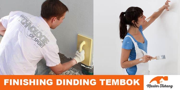finishing dinding
