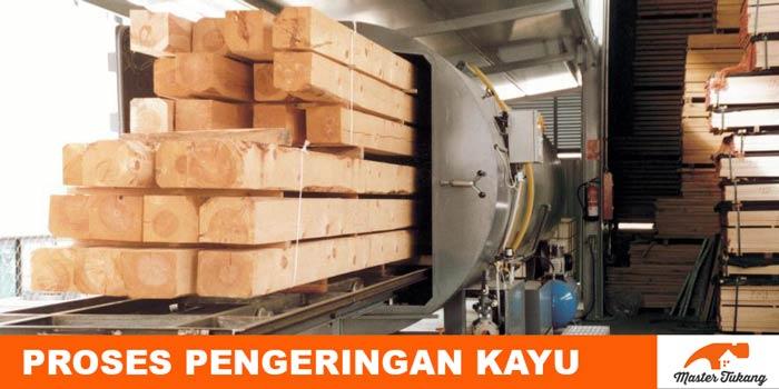 Tahapan dan proses pengeringan kayu