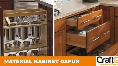 Memilih material dapur kitchenset