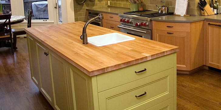 Kelebihan Table Top Kayu Untuk Kitchen Set » Inovasi Dunia Konstruksi Dan Bangunan Terkini