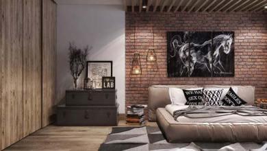Photo of Desain Kamar Tidur Dinding Bata Ekspose yang Keren