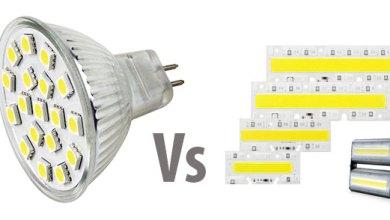 Photo of Lampu Cob Led Vs SMD Led, Perbedaan dan Perbandingannya