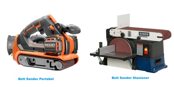 mesin belt sander