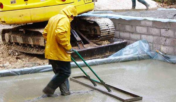Pengerjaan Cor Beton di Musim Hujan