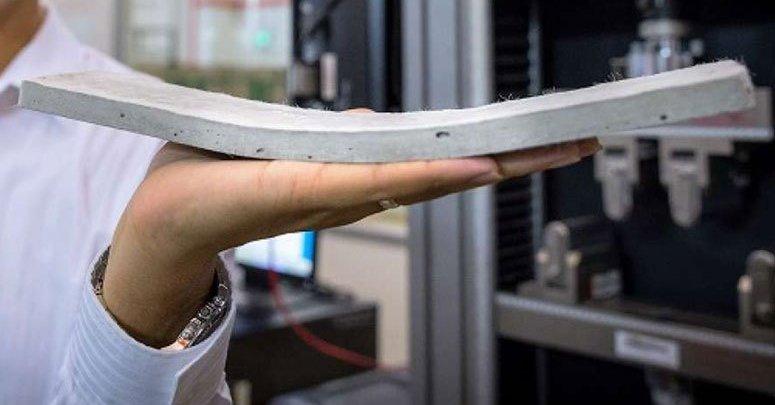 proses pembuatan beton fleksibel