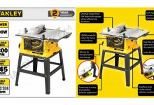 Photo of Table Saw Stanley SST1801 Akurat, Presisi, dan Berkualitas