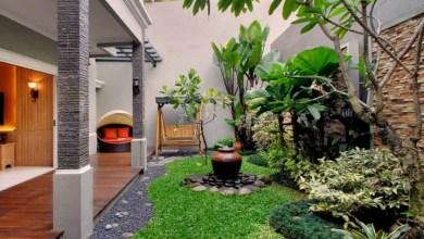 desain halaman rumah