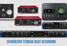 soundcard audio interface terbaik