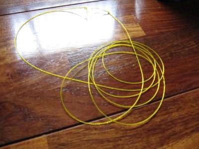 撚糸の完成