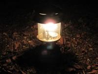 ランタンの明かり