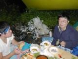 2003年大芦川釣行のワンショット