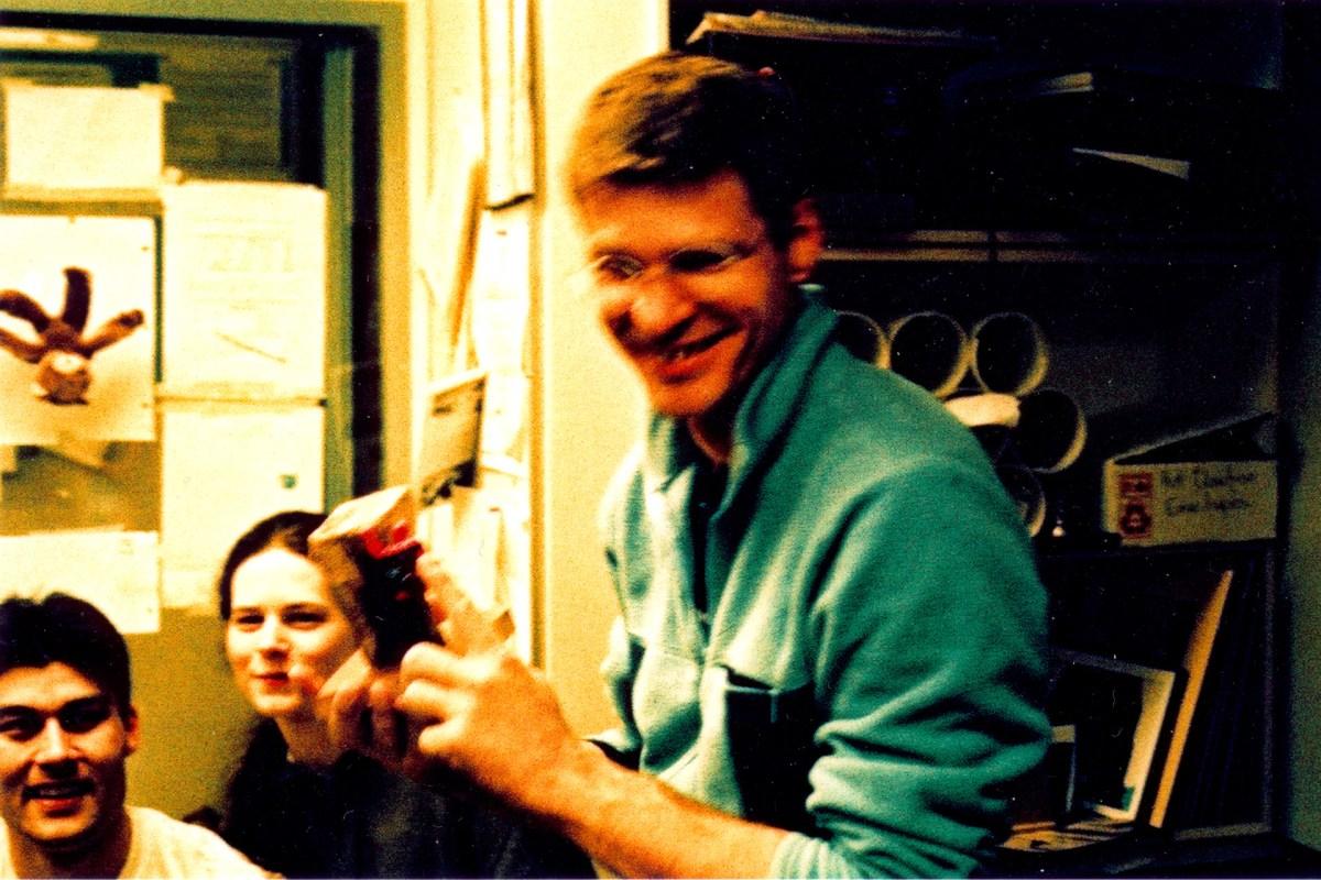Janez takes 1st place. Comp 1, April 2004