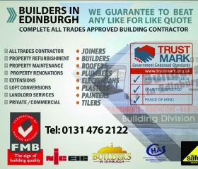 Edinburgh Builder Builders In Edinburgh