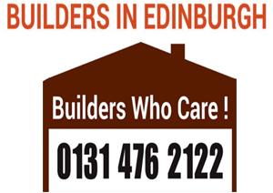 Builders In Edinburgh - Contact Us 0131 476 2122