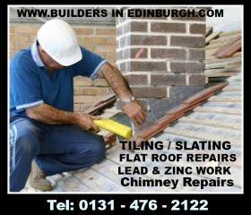 ROOFERS IN EDINBURGH – ROOFING SERVICES – FREE ROOF INSPECTIONS