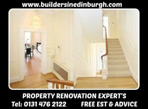 property renovation company builders in edinburgh