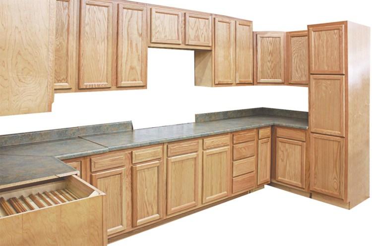 Honey Oak Kitchen Cabinets Visit Us At Builders Surplus