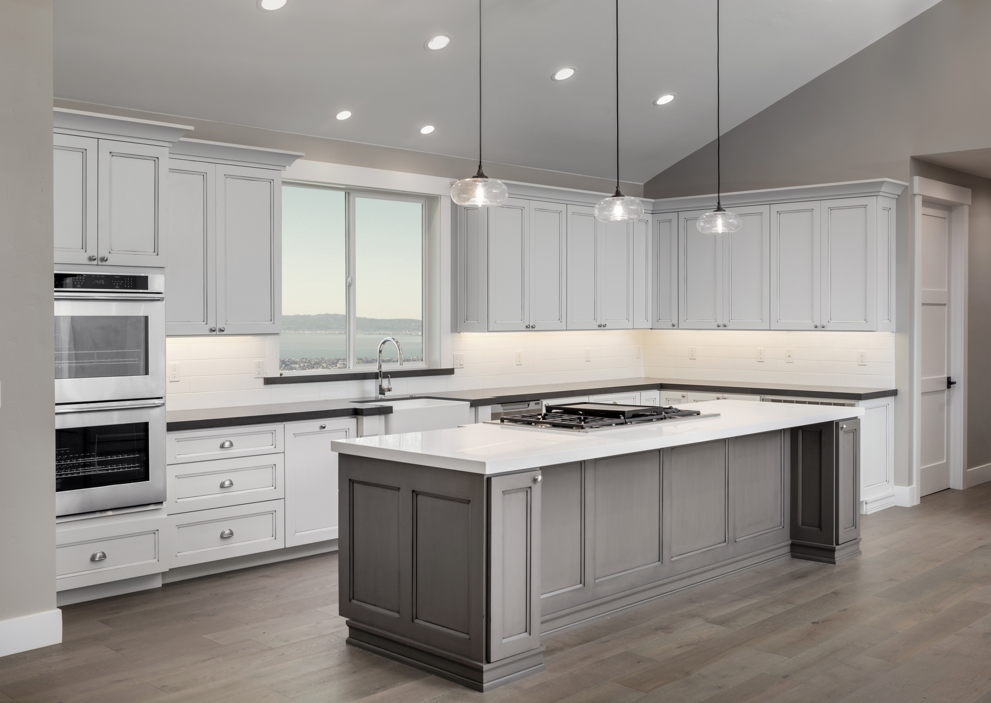 6 Popular Kitchen Cabinet Styles You Need to Know About on Modern Kitchen Counter  id=29615