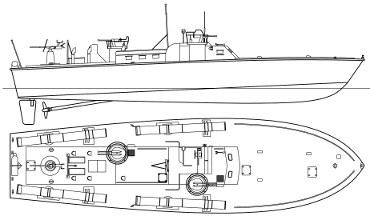 PT Boat Plans
