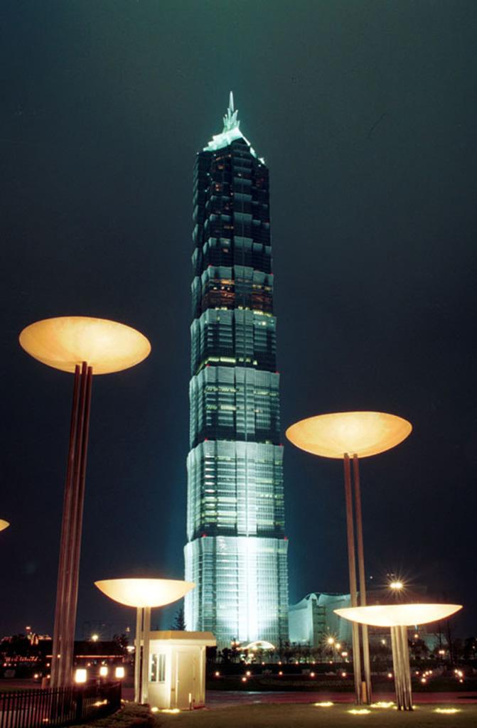 Jin Mao Tower Shanghai China Photo Gallery World