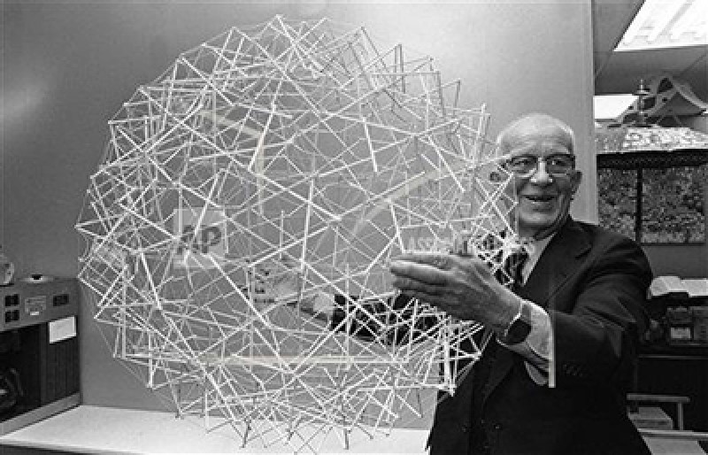 Buckminster Fuller - innovator. GLIA follows his concept of replacing an obsolete model with a better one.