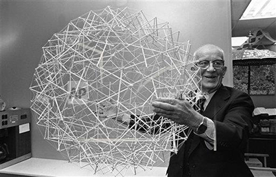 Buckminster Fuller, one of the 20th century's leading innovators and inventors
