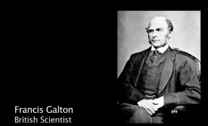 Francis Galton, British Scientist