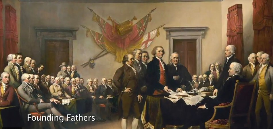 America's Founding Fathers at the Continental Congress