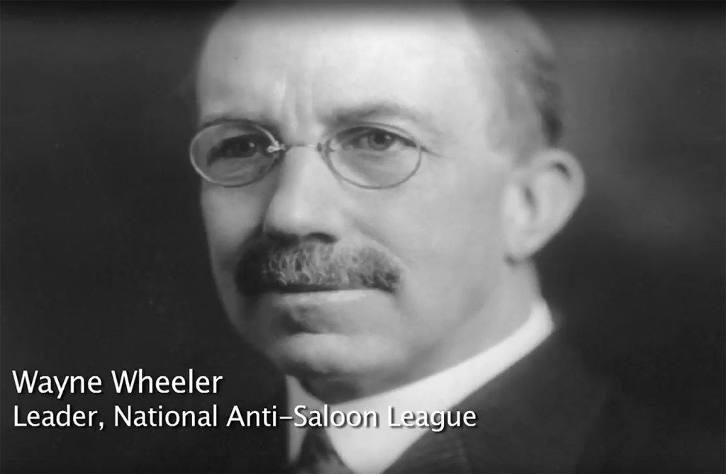 Wayne Wheeler, leader of the National Anti-Saloon League