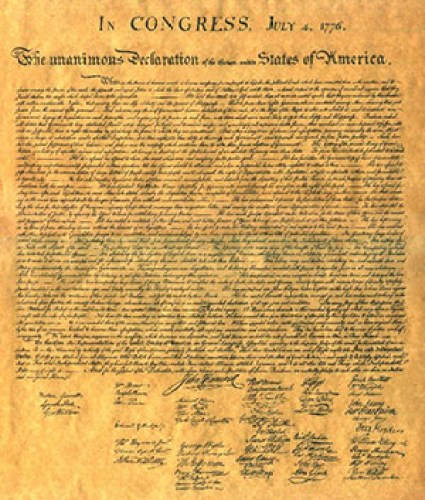 The United States' Declaration of Independence