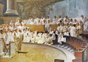 Image of A Greek assembly in Athens