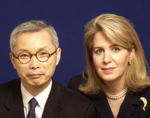 Professors Kim and Maugborne photo