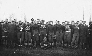 1921 Green Bay Packers professional football team photo