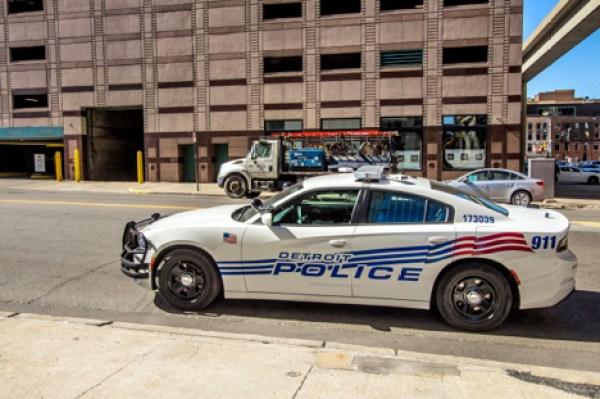 Detroit police car