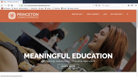 Princeton Learning Cooperative website