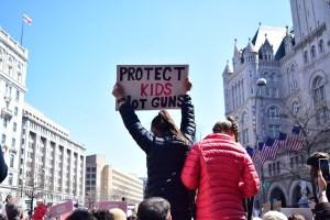 Gun violence protest