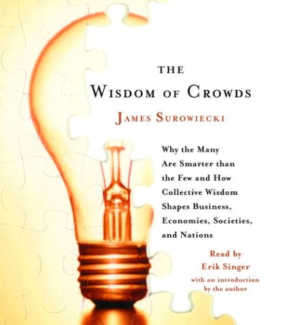 James Surowiecki, The Wisdom of Crowds book cover