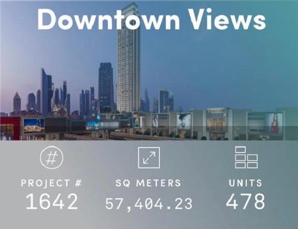 Downtown Views - Dubai - Apartment for Sale - Project Info