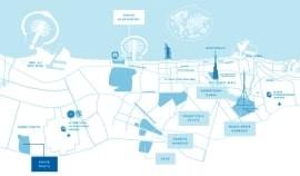 Expo Golf Villas - Emaar South - Location Map