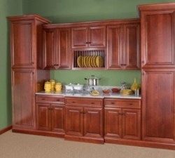Wolf Classic Cabinets Hudson Crimson maple cabinets made in USA Lancaster Elizabethtown PA