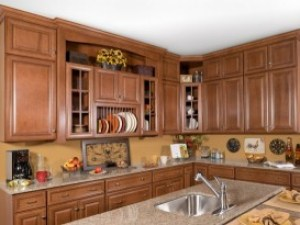 Wolf Classic Cabinets Hudson Heritage Brown Chocolate Glaze maple all wood made in USA Lancaster Elizabethtown kitchen PA