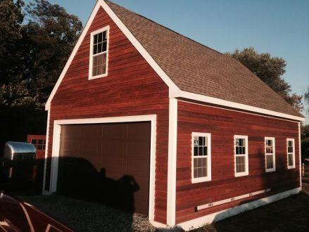 cedar siding pvc trimboards shingles front entrance door