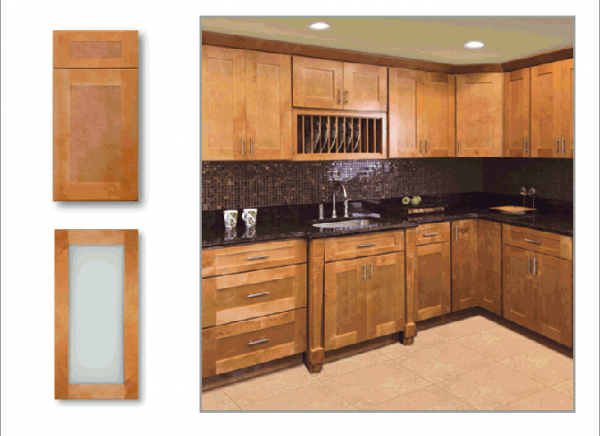 TSG Shakertown Kitchen Cabinets All Wood Rta Discount Sale