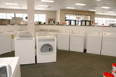 fields of washers and dryers
